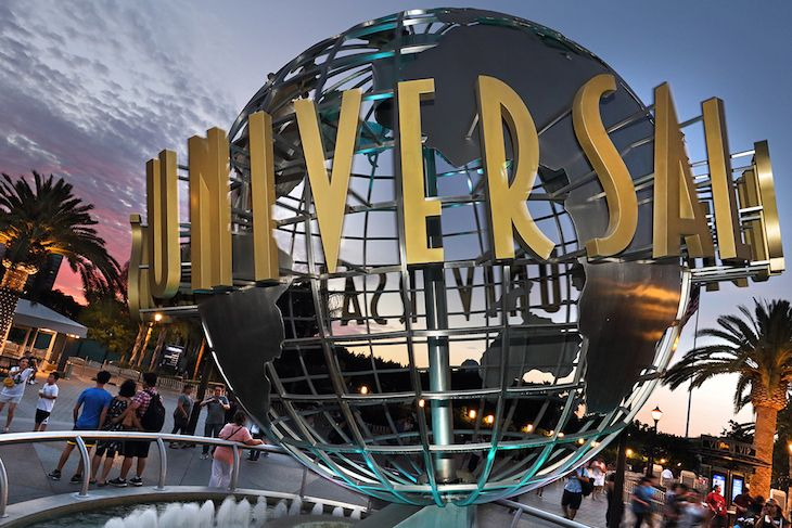 USH Globe at Universal Hollywood - new 2020